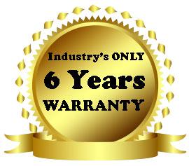 3 in 1 FIT 6-year-warranty