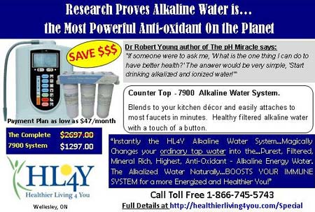 Alkaline Water Machine